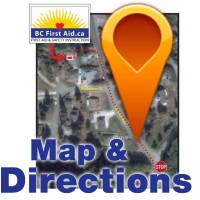 Get directions and Map to the BC First Aid training facility